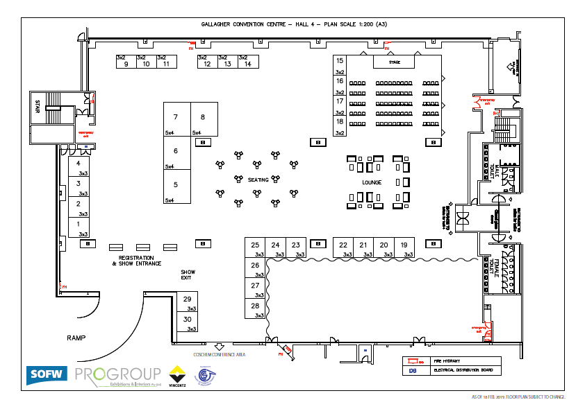 Floorplan HPCI South Africa