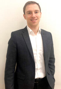Foto of Anton Matsik, the new sales director for cosmetic ingredients in Russia for Symrise