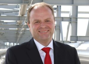 Portrait phot of Norbert Harringer, the new board member at Agrana Beteiligungs AG