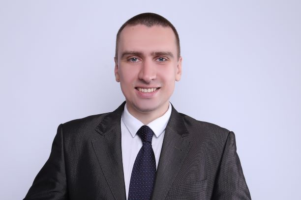 portrait of Pavlo Prykhodchenko, the new General Manger at Bieterfeld Ukraine