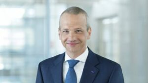 Portrait of Markus Kamieht responsible for the divisions Dispersions & Pigments, Care Chemicals, Nutrition & Health, Performance Chemicals, Advanced Materials & Systems Research, BASF New Business and the region South America.
