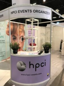 Organizer booth at the HPCI CEE in Warsaw