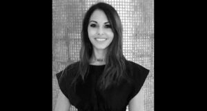 portrait of Claudia Marocci, the new brand gernal dirctor of Parfums Christian Dior