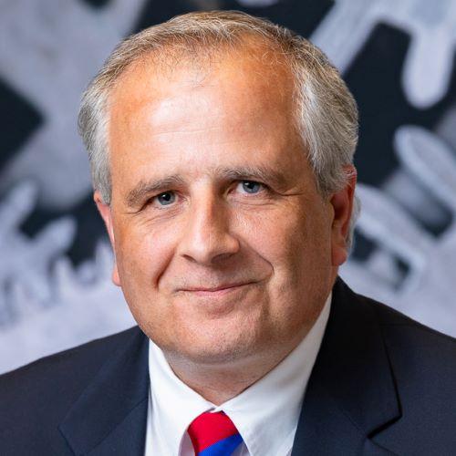 Portrait of Mike Gaffney the new appointed CFO of Van de Mark Chemical, a global leader of phosgene chemistry