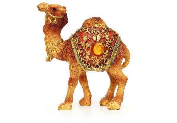 A vector graph of a camel