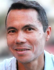 Portrait of Patrick Nguyen-Duhamel, the new president of Quaron