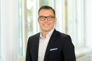 Portrait foto of Marko Grozdanovic, the new head of Personal Care Europe business unit at BASF