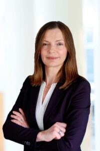 Portait of Astrid Hermann, new member of the Executive Board of Beiersdorf AG.