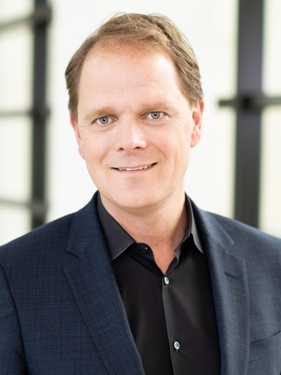 Portrait foto of Pascal Baltussen, the new Chief Procurement Officer at Coty