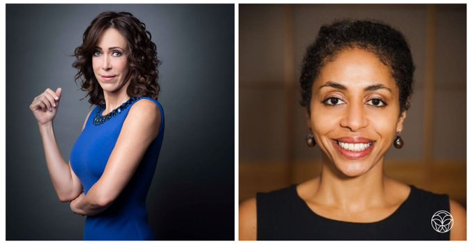 Portrait fotos of the two new female board of directors member at coty.