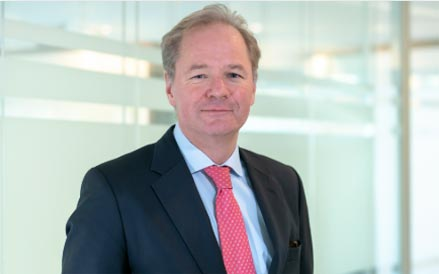 Portrait foto of Janus Smalbraak, newly appointed chair of the supervisory board of Imcd, a distributor for specialty chemicals