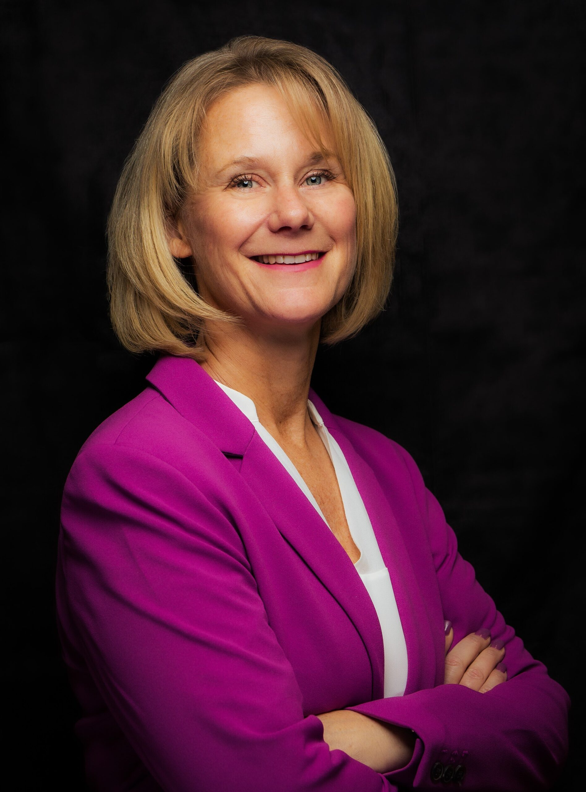 Portrait foto of Laura Matz, the new Chief Science and Technology Officer at Merck